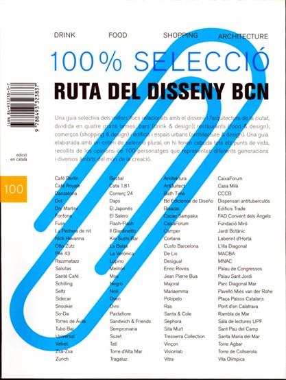Ruta del Disseny BCN. 100% Selecció