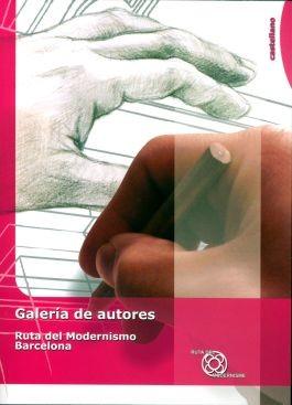Galería de autores de la Ruta del Modernismo de Barcelona