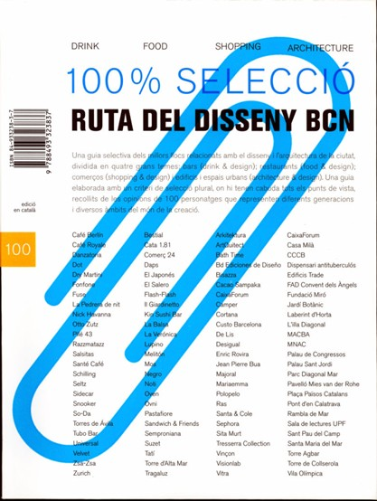 100% Selection. BCN Designer Route