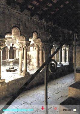 Affiche clôitre de Sant Pau del Camp